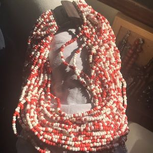 18-inch beaded necklace